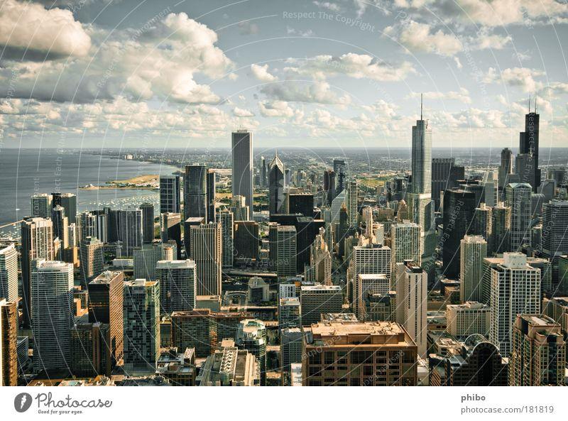 2 blau Stadt Ferne Architektur Gebäude Horizont Reflexion & Spiegelung Hochhaus ästhetisch außergewöhnlich Macht Unendlichkeit Skyline Aussicht Wahrzeichen