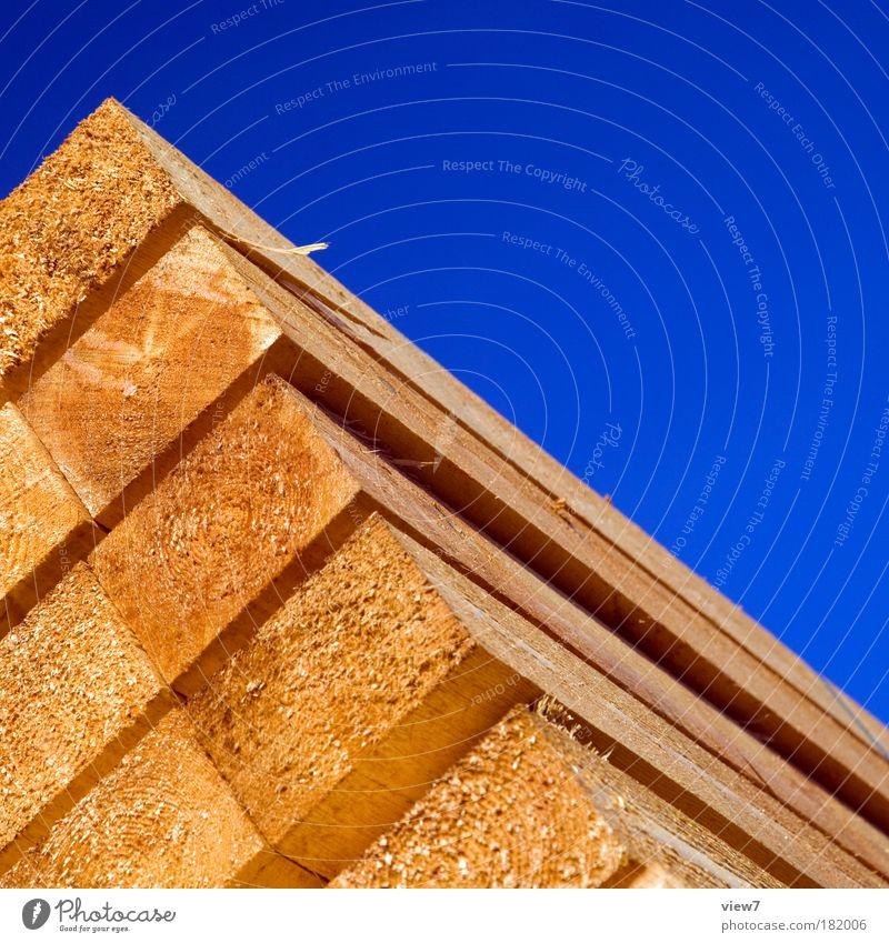 Holzstapel Linie braun gold groß gut Güterverkehr & Logistik fest Landwirtschaft Duft positiv Material Stapel Handel Arbeitsplatz Originalität