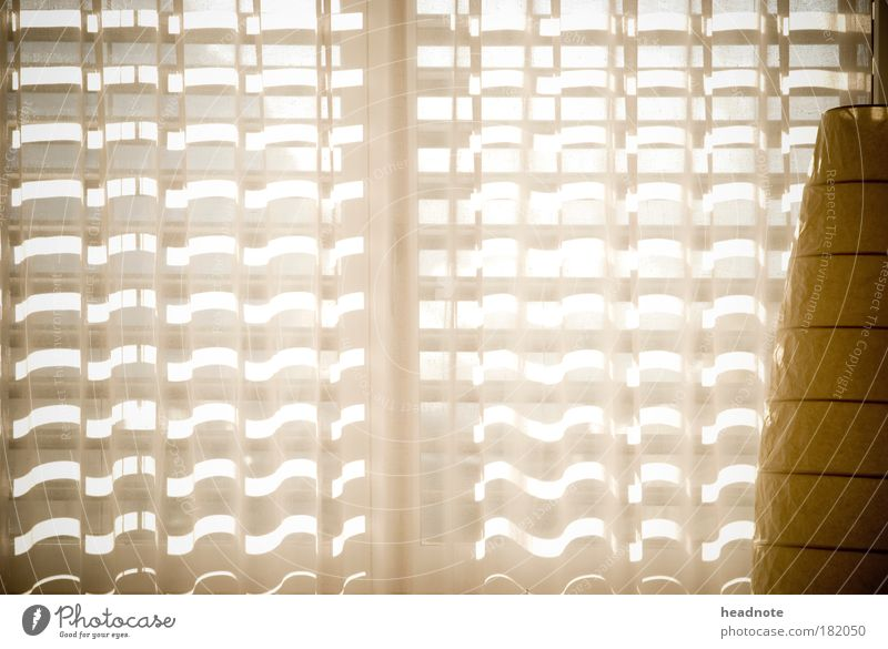 illuminated weiß gelb Lampe Wärme Zufriedenheit Stimmung braun Wohnung Fröhlichkeit Coolness weich Schutz Warmherzigkeit Stoff Freundlichkeit Wohnzimmer
