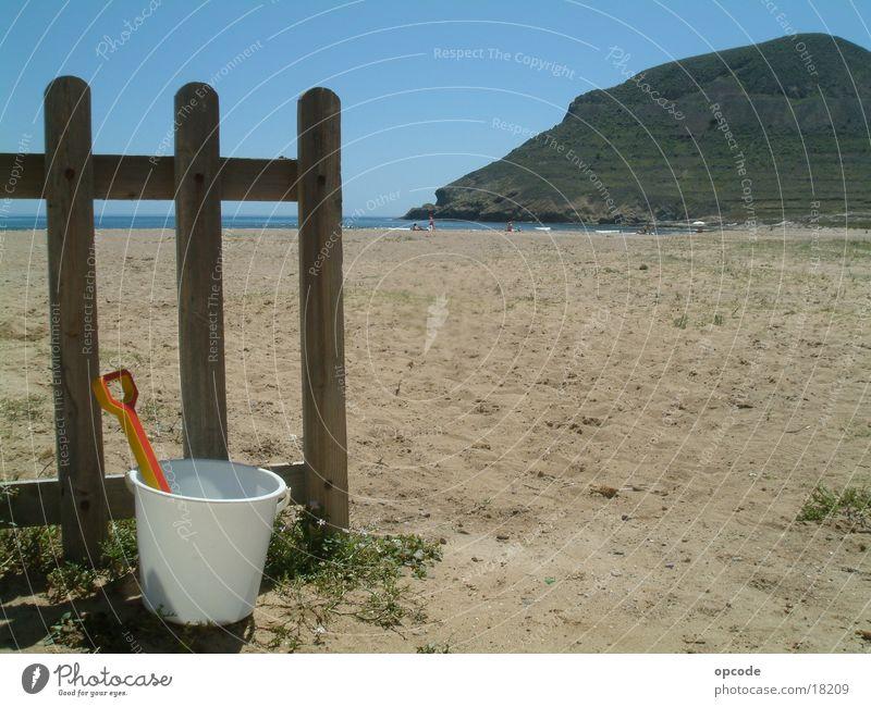 Andalusien, am Strand Meer Strand Ferien & Urlaub & Reisen Sand Europa Spanien