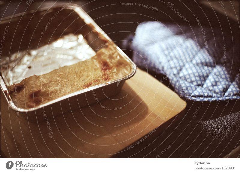Lasagne Leben Lebensmittel Ernährung Vergänglichkeit Teile u. Stücke Teilung lecker Verbote Mittagessen Rest Schneidebrett Wert Misserfolg Geschmackssinn Nudeln