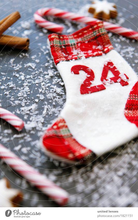 AKCGDR# 100 x 24, hä? Kunst ästhetisch Weihnachten & Advent Dezember Vorfreude Winter Winterstimmung Schnee Zuckerstange Dekoration & Verzierung Postkarte Zimt
