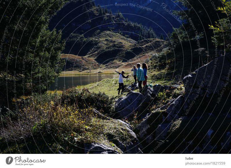 Idylle am Körbersee harmonisch Zufriedenheit Ferien & Urlaub & Reisen Tourismus Ausflug Freiheit Sommer Sommerurlaub Berge u. Gebirge wandern Umwelt Natur