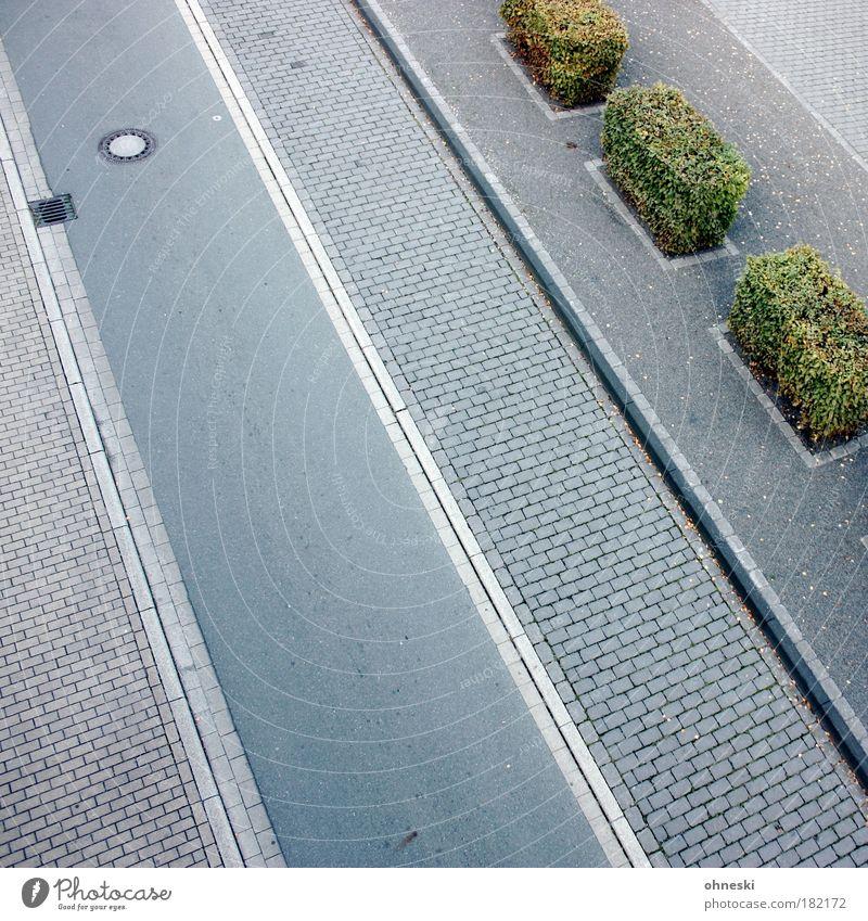 Straßenbaukunst Farbfoto Gedeckte Farben Außenaufnahme Menschenleer Textfreiraum links Textfreiraum unten Textfreiraum Mitte Tag Schatten Vogelperspektive