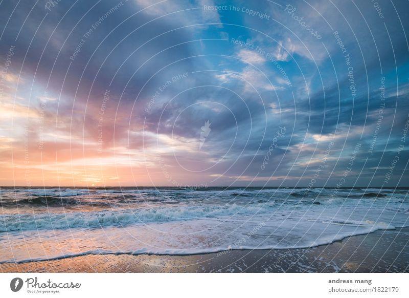 #329 / Farben Himmel Natur Ferien & Urlaub & Reisen Sommer Wasser Meer Wolken Ferne Strand Umwelt Herbst Bewegung Küste Stimmung Horizont Wellen
