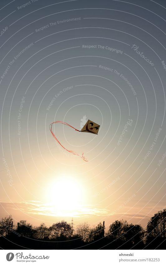 Freundlicher Herbst Farbfoto Außenaufnahme Textfreiraum oben Abend Kontrast Sonnenlicht Sonnenstrahlen Sonnenaufgang Sonnenuntergang Gegenlicht Freizeit & Hobby