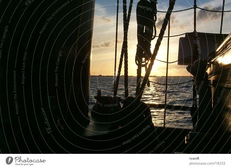 aufklaren Segeln Schifffahrt