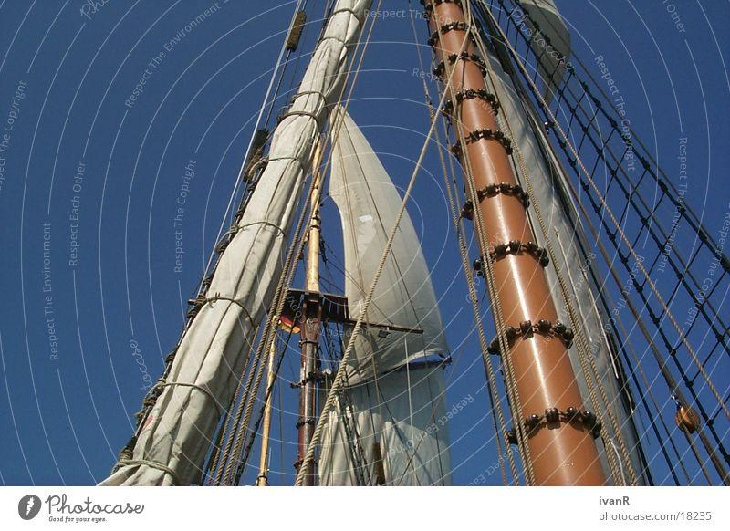 hol durch Segeln Schifffahrt segel setzen