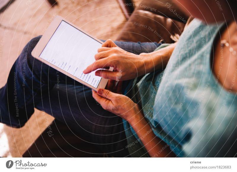Haus Lifestyle feminin Business Wohnung modern Technik & Technologie Telekommunikation Computer kaufen lesen Internet heimwärts Zeitung E-Mail Zeitschrift