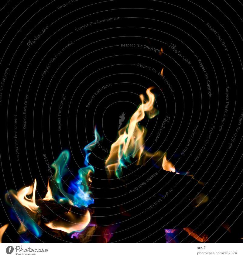 farbenfroh Ferien & Urlaub & Reisen blau grün Sommer rot kalt gelb Wärme Farbstoff Feste & Feiern Freiheit außergewöhnlich Freizeit & Hobby Tourismus Ausflug Feuer