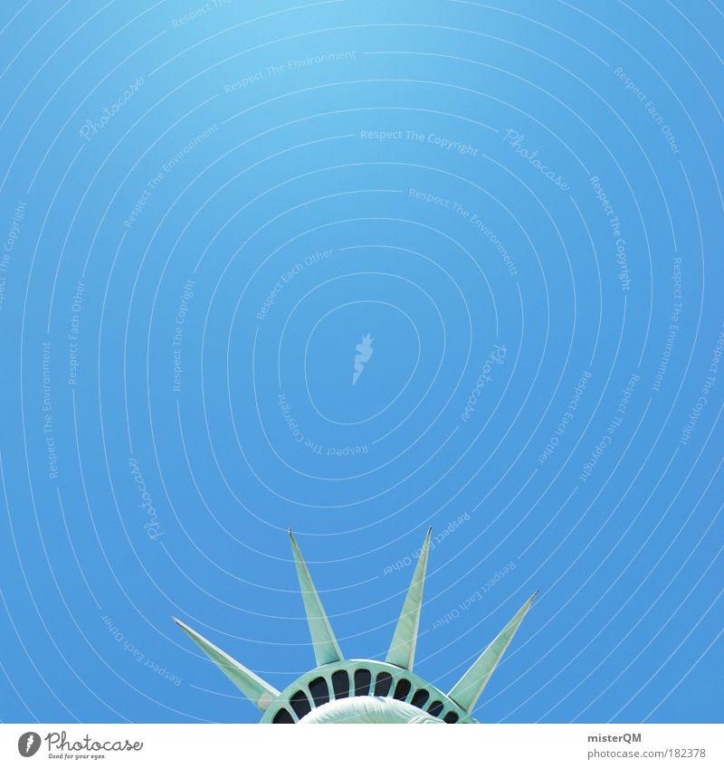 Ein Stück Freiheit. Farbfoto Gedeckte Farben Außenaufnahme Nahaufnahme Experiment abstrakt Muster Strukturen & Formen Menschenleer Textfreiraum links