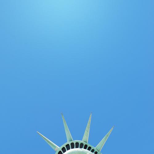 Ein Stück Freiheit. Ferien & Urlaub & Reisen Ferne Kunst Kraft Tourismus Studium Zukunft Macht USA Kultur Spitze Mitte Symbole & Metaphern Aussicht Amerika