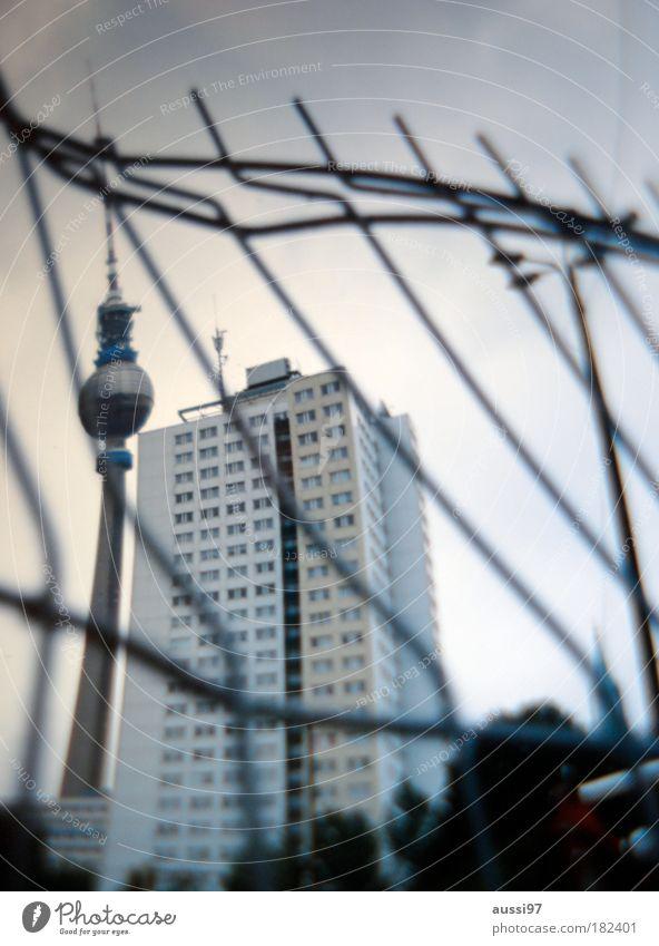 Liquids over Berlin Deutschland Berliner Fernsehturm Hauptstadt Wiedervereinigung Regierungssitz