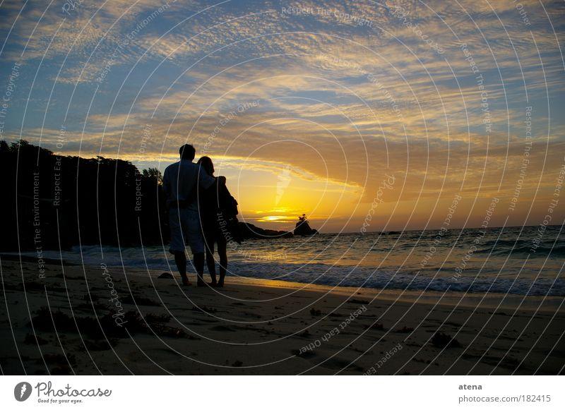 Anse Soleil Farbfoto Außenaufnahme Dämmerung Sonnenaufgang Sonnenuntergang Panorama (Aussicht) Lifestyle Reichtum exotisch Ferien & Urlaub & Reisen Ausflug