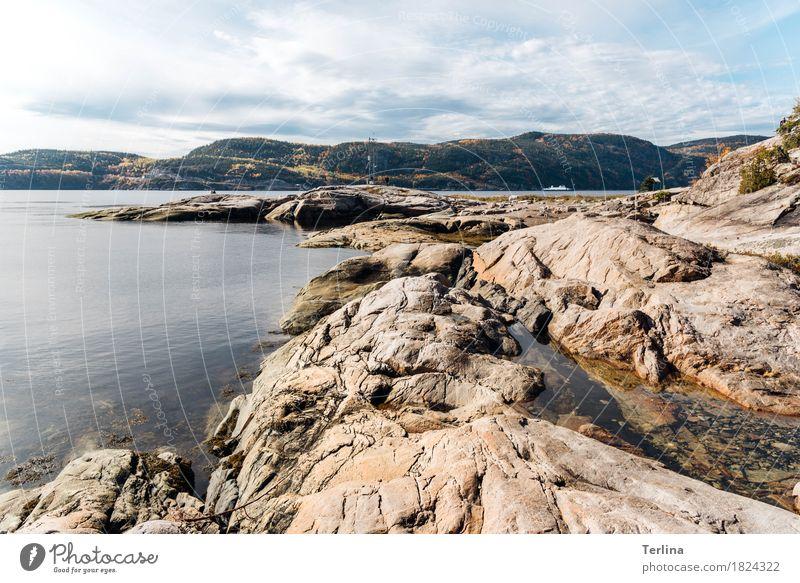 Fjord of Tadoussac Natur Ferien & Urlaub & Reisen schön Einsamkeit Ferne Leben wandern ästhetisch genießen einzigartig einfach Abenteuer Romantik Coolness