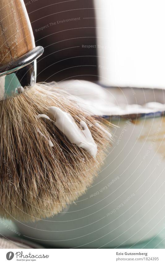 Rasierzeug Körperpflege Haare & Frisuren Gesicht Kosmetik Bart Oberlippenbart Dreitagebart Vollbart Behaarung Rasierklinge elegant Erfolg Reichtum schön