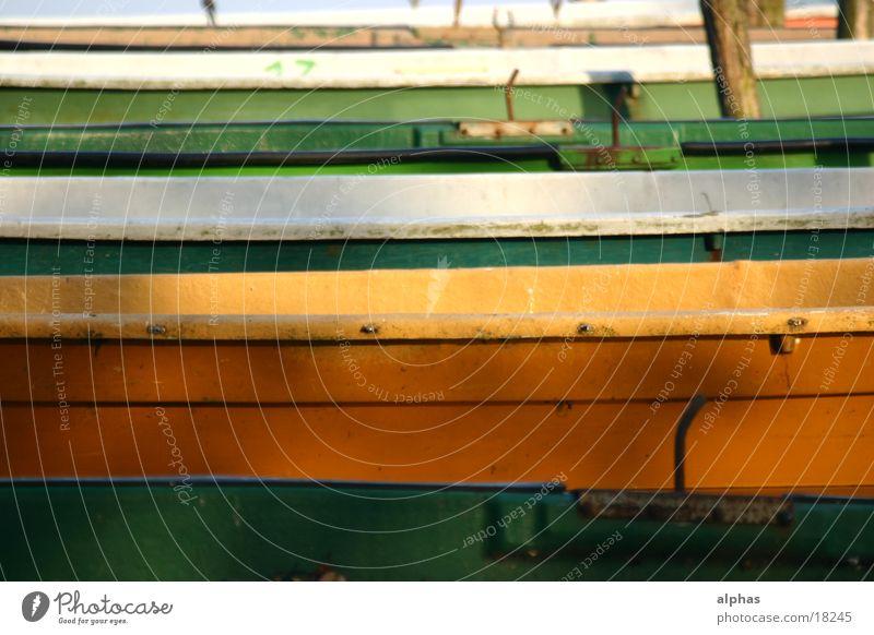 Boote 3 Wasserfahrzeug See Teich Steg Sommer Ente