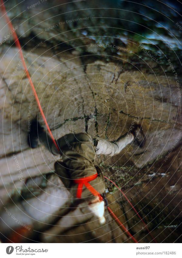 Downhill racer Klettern Mütze Bergsteigen retten Wollmütze abseilen