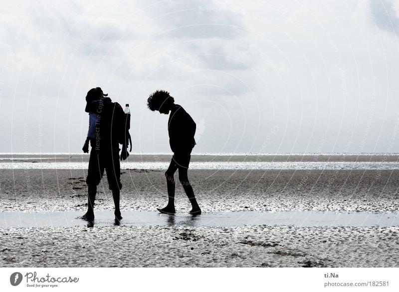 SPO|09 Krabbensucher Mensch Kind Jugendliche Wasser Sonne Meer Sommer Freude Strand Ferien & Urlaub & Reisen Ferne Leben Junge Freiheit Familie & Verwandtschaft Küste