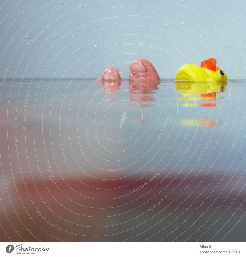 Runzelzehen Wasser schön Freude ruhig Erholung kalt klein Fuß Unterwasseraufnahme Schwimmen & Baden Haut frisch Wassertropfen Fröhlichkeit mehrfarbig
