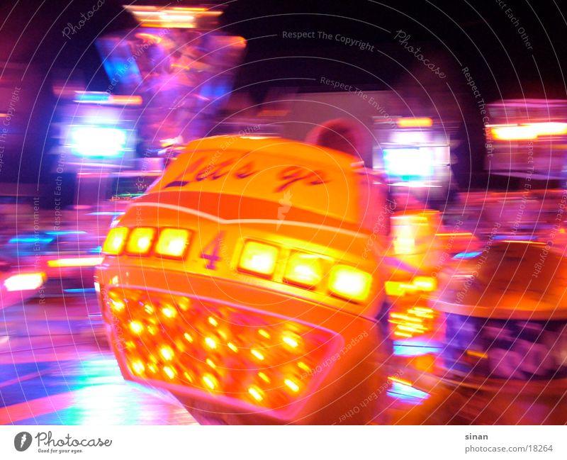 Break Dance Karussell Jahrmarkt Geschwindigkeit mehrfarbig Freizeit & Hobby Bewegunug Farbe Angst Freude