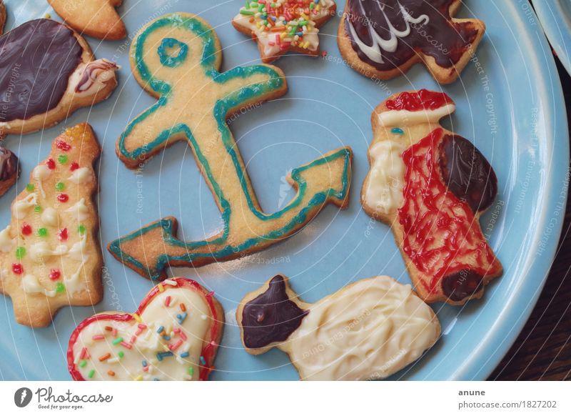 *Weihnachtsplätzchen* Detail I Lebensmittel Teigwaren Backwaren Süßwaren Schokolade Ernährung Kaffeetrinken Vegetarische Ernährung Slowfood Fingerfood Teller