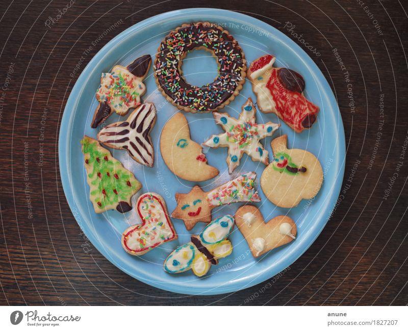 *Weihnachtsplätzchen* I Weihnachten & Advent Holz Lebensmittel Feste & Feiern Ernährung Dekoration & Verzierung Kindheit Herz einzigartig süß niedlich Zeichen