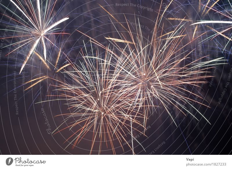 Himmel blau Weihnachten & Advent Farbe schön weiß rot dunkel schwarz gelb Glück Kunst Feste & Feiern Party orange Design