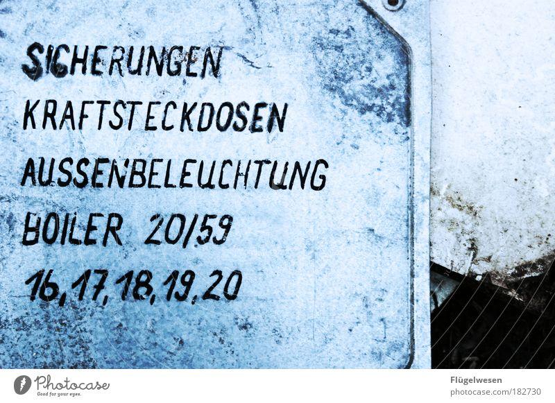 Und was ist mit 21? alt Beleuchtung Metall Handwerker Lifestyle Elektrizität Kommunizieren Freizeit & Hobby Schutz Häusliches Leben entdecken Maschine DDR bauen