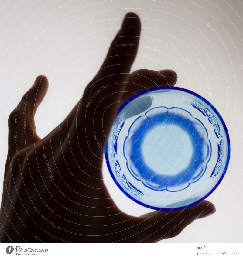 Caco Calo blau Ernährung Wasser Glas Wohnung abstrakt Lebensmittel Trinkwasser Getränk Raum trinken Küche rund Dekoration & Verzierung Neugier Bar