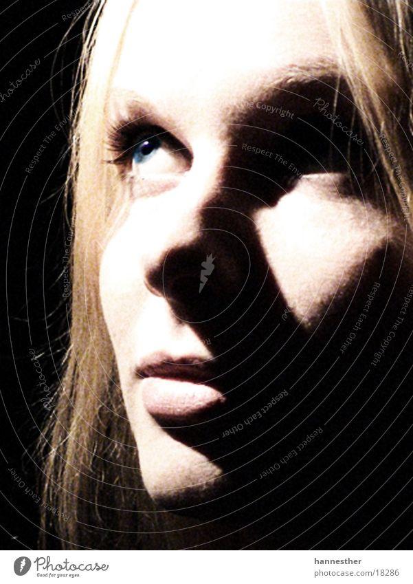träum weiter Frau Mensch Gesicht feminin träumen Denken blond