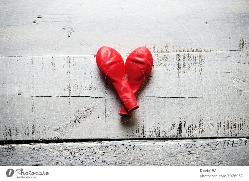 Die Luft ist raus II Glück Behandlung Mensch maskulin feminin Frau Erwachsene Mann Kunst Liebe Zusammensein Kitsch Gefühle Treue Eifersucht Luftballon