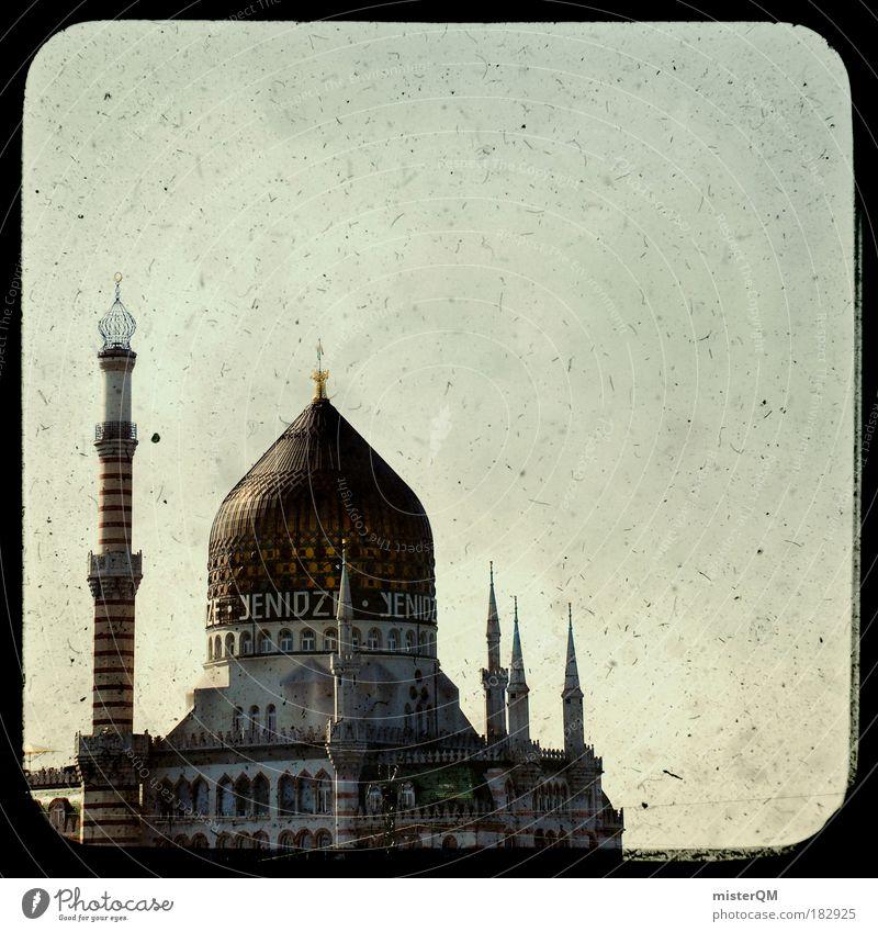 Märchenwelt. alt Islam Stil Sachsen Religion & Glaube Malaysia Muster Dach Kultur Dresden Restaurant abstrakt historisch Wahrzeichen