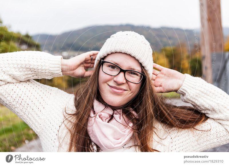 jenni Mensch Freude Gesicht Auge Gefühle lustig Lifestyle feminin Stil Gesundheit Glück Mode Kopf Haare & Frisuren Stimmung Freizeit & Hobby