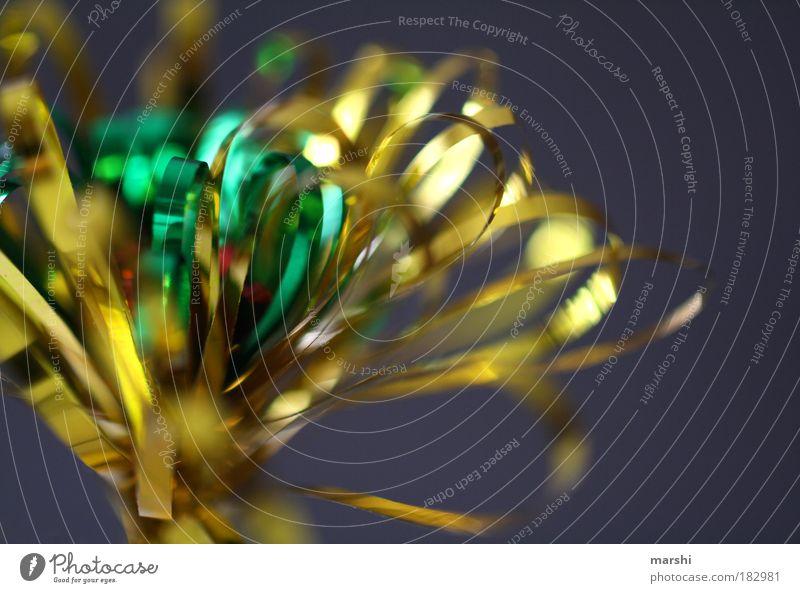 glanzvoll Farbfoto Unschärfe Longdrink Cocktail Freizeit & Hobby Bar Cocktailbar ausgehen Feste & Feiern Kitsch Krimskrams glänzend gold grün rot Stimmung