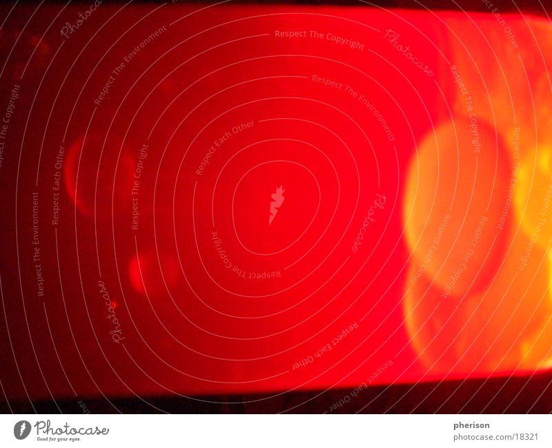 Lava Lampe Licht rot schwarz Stil Fototechnik blasen orange red
