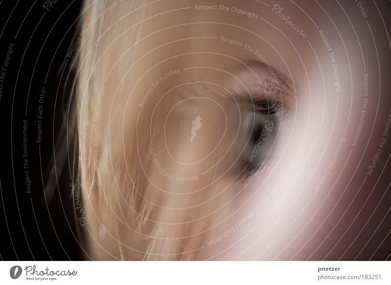 Ferne II Mensch Jugendliche schön Freude Gesicht Erwachsene Auge feminin Kopf Haare & Frisuren Glück blond Haut Fröhlichkeit authentisch einzigartig