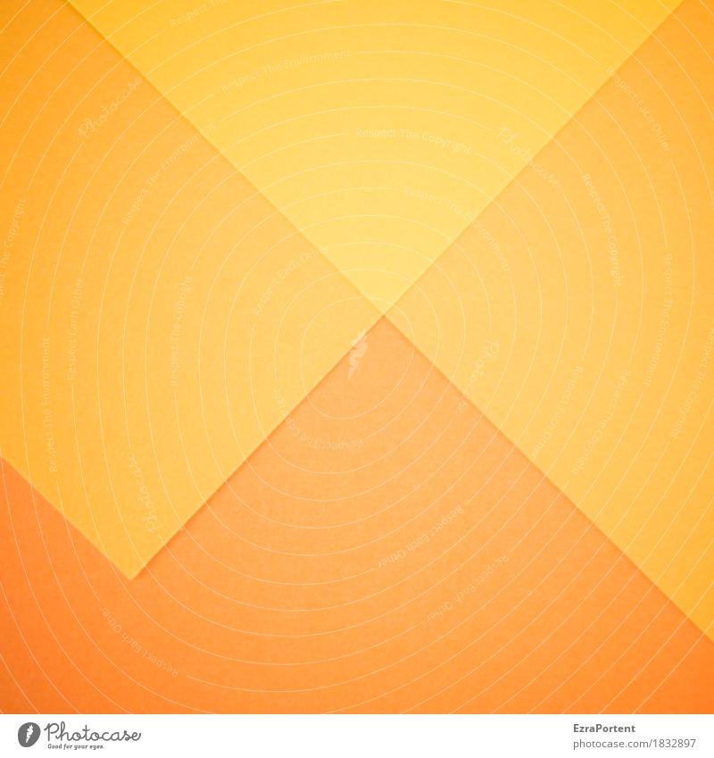 \/\/\ elegant Stil Design Kunst Papier Dekoration & Verzierung Zeichen Linie ästhetisch hell gelb orange Farbe Inspiration Werbung graphisch