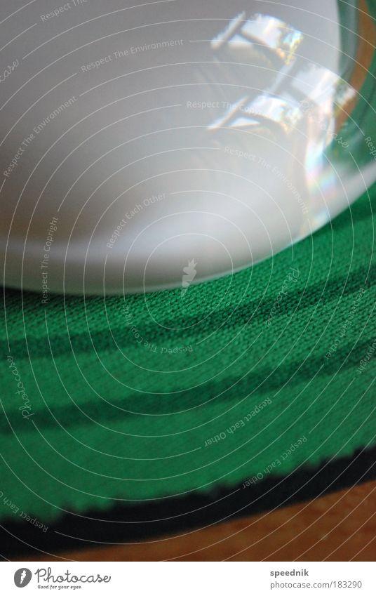 Rundungen (Fingerübung) weiß grün kalt Bewegung klein Denken Arbeit & Erwerbstätigkeit Design Sauberkeit Kunststoff berühren Schreibtisch Dienstleistungsgewerbe