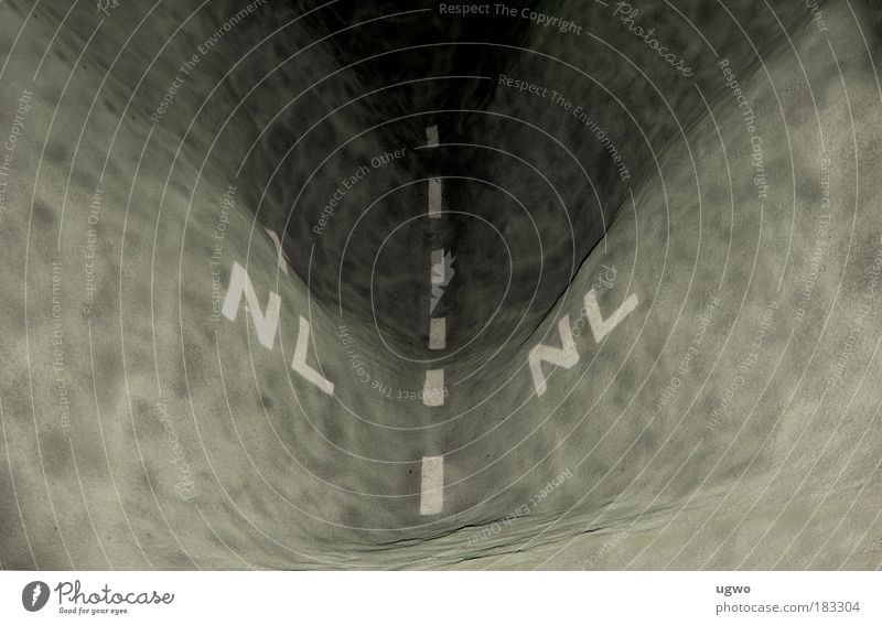 Wohin der Weg auch geht ......... weiß schön Einsamkeit schwarz grau Architektur Kunst modern weich Neugier Pavillon