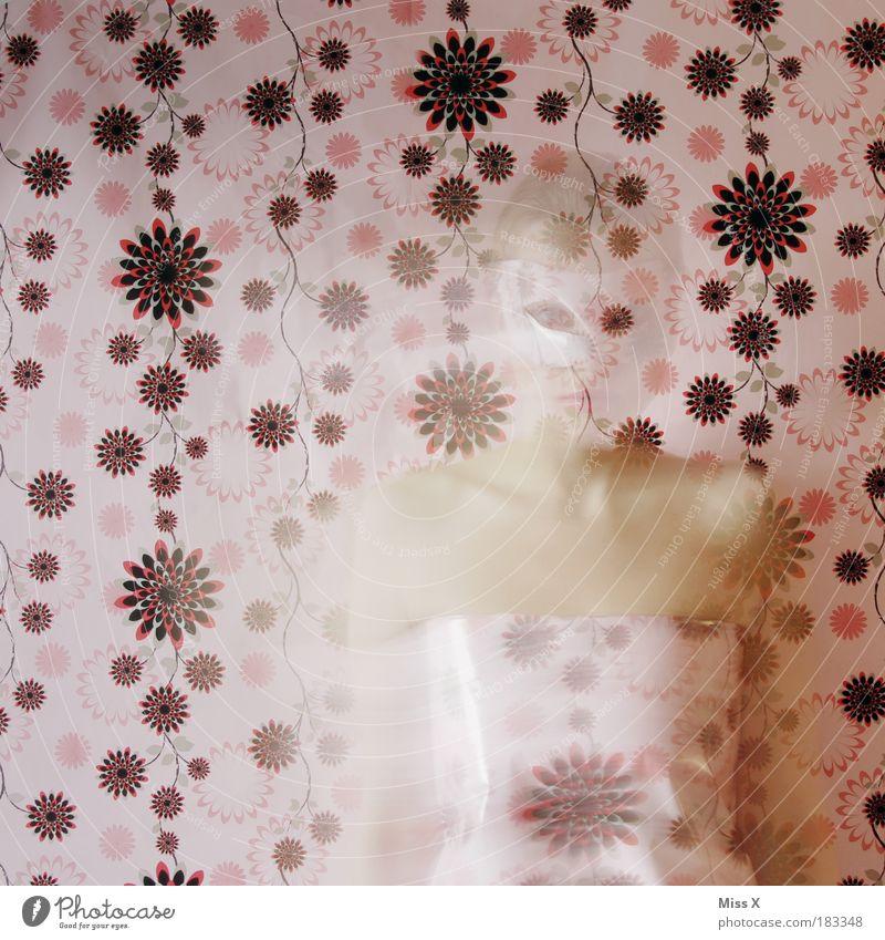 Schein oder Sein ? Mensch Jugendliche schön Erwachsene Bewegung Stil Kunst Feste & Feiern Körper elegant Design außergewöhnlich Lifestyle 18-30 Jahre Junge Frau Maske