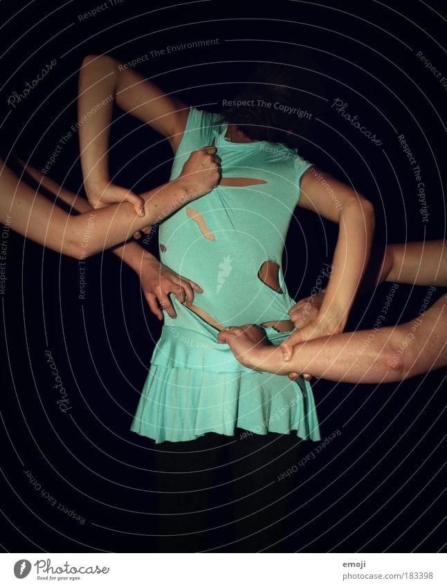 Angst vor Nacktheit - ein lizenzfreies Stock Foto von