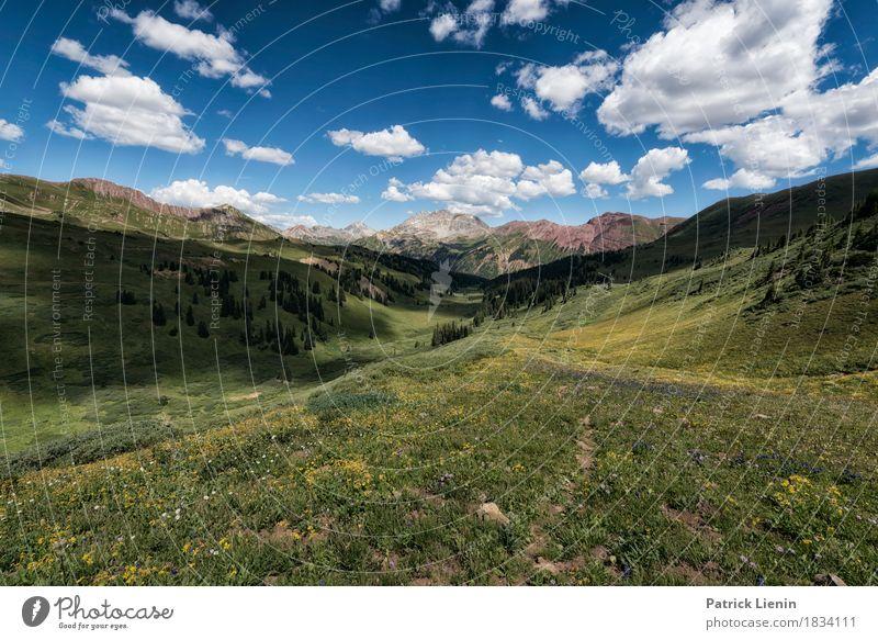 Feels Like Home schön Ferien & Urlaub & Reisen Abenteuer Berge u. Gebirge wandern Umwelt Natur Landschaft Himmel Wolken Klima Klimawandel Wetter Baum Blume Gras