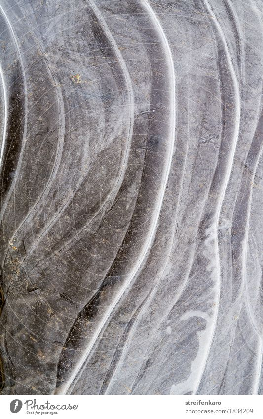 Eis III Umwelt Natur Urelemente Wasser Winter Klima Wetter Frost Schnee Teich See Pfütze Eisfläche frieren ästhetisch fest kalt natürlich ruhig bizarr