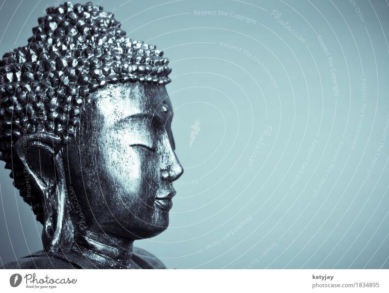Buddha Mensch Erholung ruhig Gesicht Religion & Glaube Kunst Kopf Körper Kultur Kraft Frieden nah Asien Meditation Statue