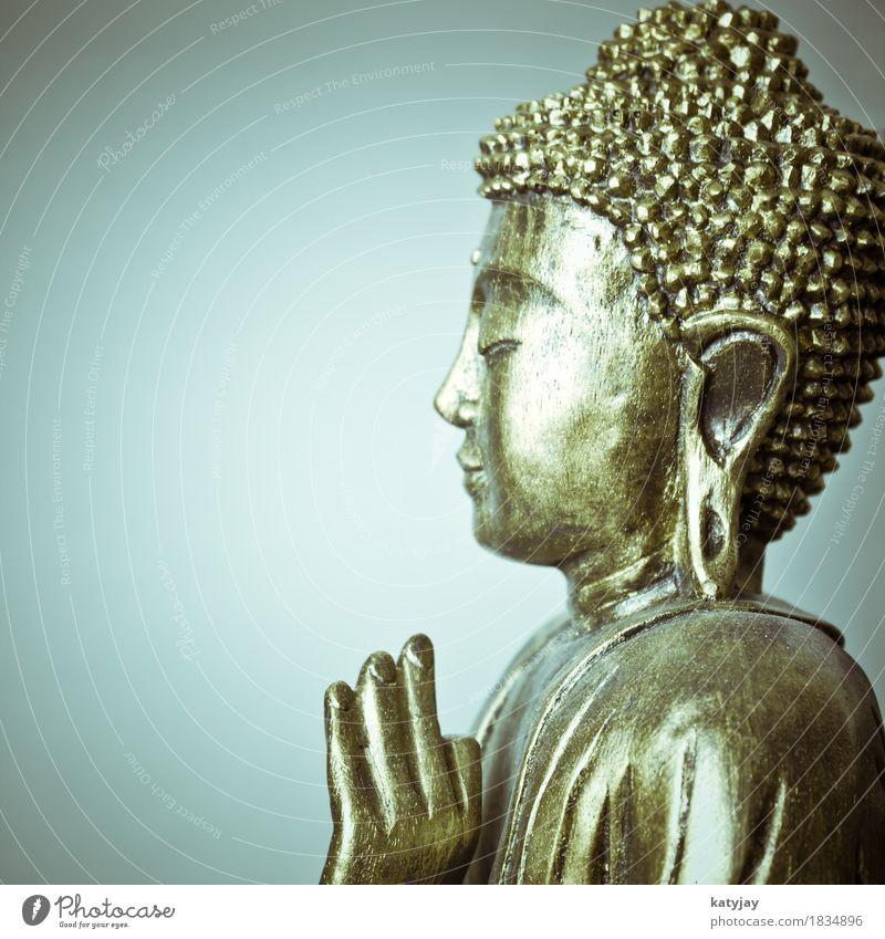 BUddha Buddha Buddhismus Körper Meditation Erholung Statue Religion & Glaube siddhartha ruhig Gesicht Asien asiatisch Gebet kultig Kunst Kultur Geistlicher