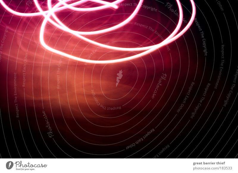 Geister der Nacht Farbfoto mehrfarbig Innenaufnahme Nahaufnahme Experiment abstrakt Menschenleer Lichterscheinung Langzeitbelichtung Bewegungsunschärfe Linie