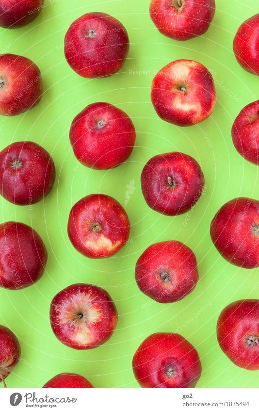 Damit Sie auch morgen noch kraftvoll zubeißen können grün Gesunde Ernährung rot Essen natürlich Gesundheit Lebensmittel Frucht Ernährung rund lecker viele Bioprodukte Apfel Vegetarische Ernährung Diät