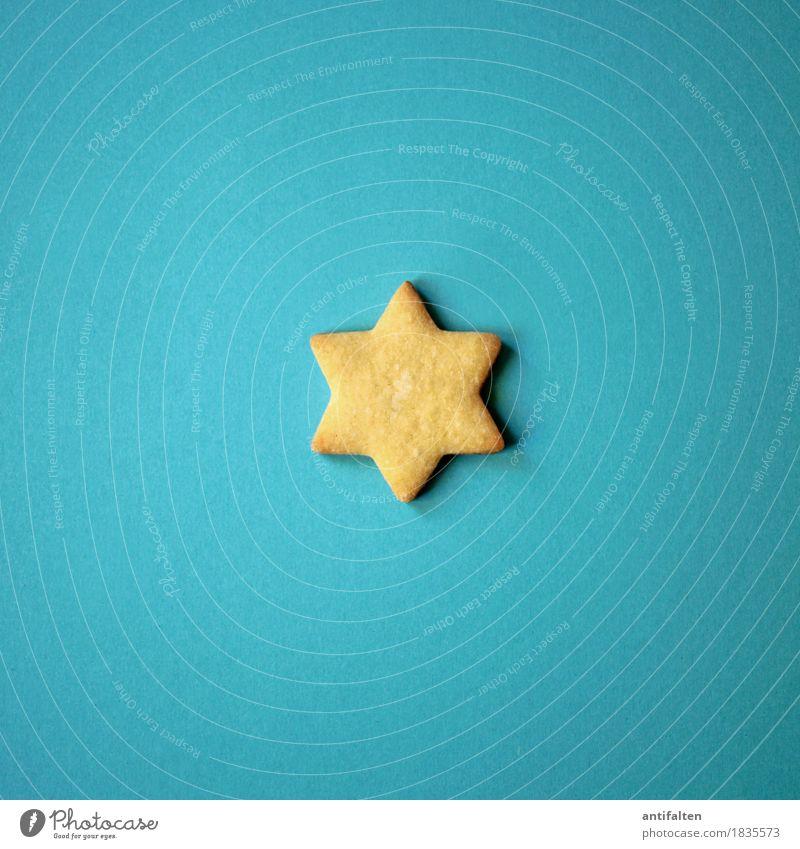 Stern blau Weihnachten & Advent Freude Essen Glück Zeit Lebensmittel Feste & Feiern Ernährung Lebensfreude kaufen Stern (Symbol) Silvester u. Neujahr türkis
