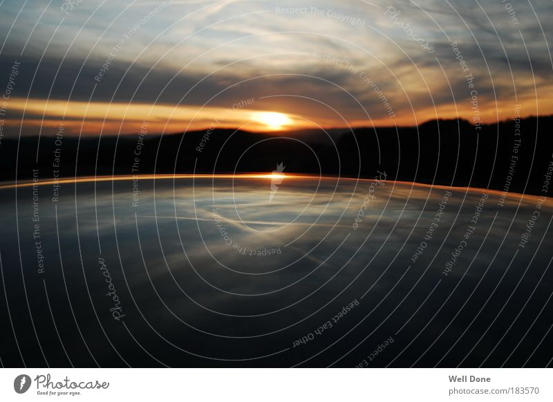 2012 Himmel Herbst Landschaft Kraft Sonnenuntergang Wetter Umwelt genießen